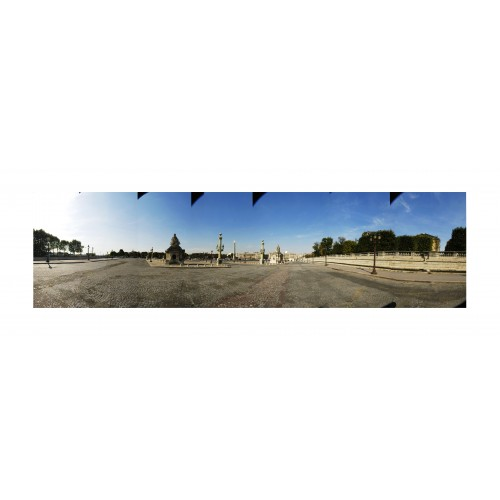 Place de La CONCORDE VIDE