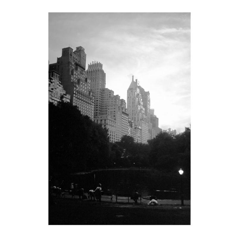Central park West, New York, 30X40cm
